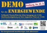 Demo für die Energiewende