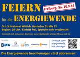 Feiern für die Energiewende