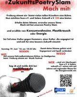 """""""Zukunfts-Poetry-Slam"""" beim Musikfestival """"Freiburg stimmt ein"""""""