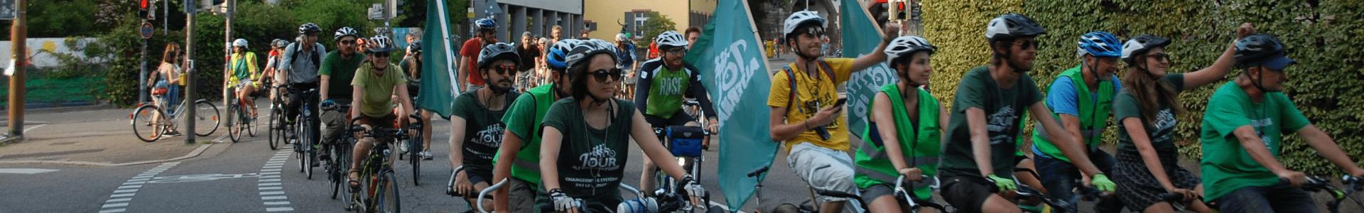 Radeln für ein besseres Klima – die Tour Alternatiba in Freiburg