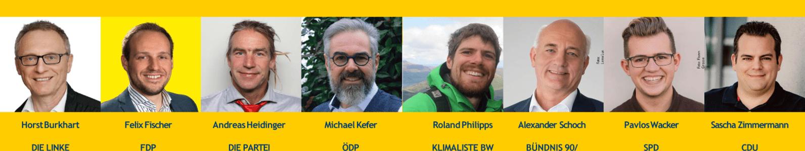 """Rückblick: Digitale Podiumsdiskussion """"Klimaschutz & Energiewende"""" mit Landtagskandidaten des Wahlkreis Emmendingen"""