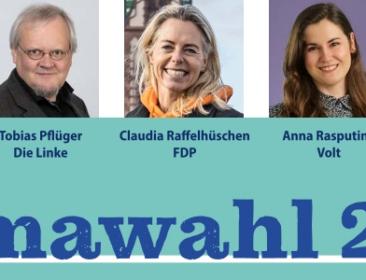 """Letzte Podiumsdiskussion der Klimawahl 2021 im Rückblick: """"Die Zukunft der Mobilität"""""""
