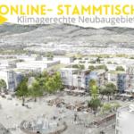 Skizze von Stadtteil Dietenbach Freiburg